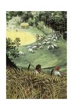 Landscape in Summer Giclee Print by Lucas van Valkenborch