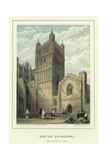 Exeter Cathedral, the Southern Tower Giclee Print by John Francis Salmon