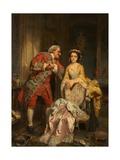 Peine Perdue, or a Lost Cause Giclee Print by Heinrich Wilhelm Schlesinger