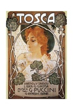 Poster for Tosca, Opera Giclee Print by Giacomo Puccini