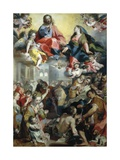Madonna of the People, 1590 Giclee Print by Federico Barocci