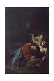 Christ in Garden, Circa 1750 Giclee Print by Paul Troger