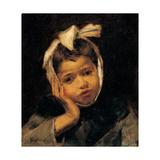 Toothache, 1875-1895 Lámina giclée por Demetrio Cosola