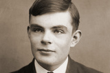 Portrait of Alan Mathison Turing Photographic Print