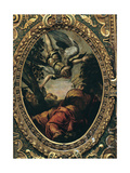 Elijah Fed by the Angel, 1577 Giclee Print by Jacopo Robusti Tintoretto