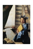 Studio, Circa 1665 Giclee Print by Jan Vermeer