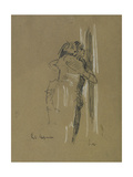 Two Standing Figures, C.1907 Giclee Print by Walter Richard Sickert