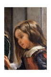 The Family of Philip IV Giclée-Druck von Diego Rodriguez de Silva y Velazquez