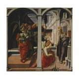 Martelli Annunciation Giclee Print by Filippo Lippi