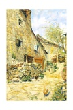 Countryside Giclee Print by Telemaco Signorini