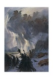 Ride of Valkyries Giclee Print