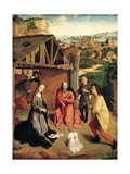 The Nativity, Ca 1490 Giclee Print by Gerard David