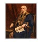 Lieutenant Colonel Henry Fishwick, Fsa, 1906 Giclee Print by Thomas Edwin Mostyn