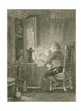 Blaize Tasting the Plague Medicines Giclee Print by John Franklin