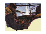 Guy Gibson and the Dambusters Giclee Print by Ray Calloway