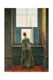Woman at Window Giclee Print by Caspar David Friedrich