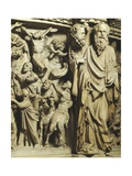 Pergamon or Pulpit Giclée-tryk af Giovanni Pisano