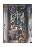 Korsfæstelse Giclée-tryk af Gaudenzio Ferrari