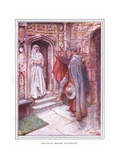 Christian before Discretion Giclee Print by John Byam Liston Shaw