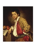 Portrait of Young Painter Giclee Print by Giuseppe Ghislandi