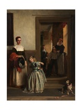 Going to a Party, 1866 Giclee Print by John Callcott Horsley