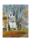 Church at Old Lyme, 1903 Giclee Print by Childe Hassam
