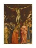 Korsfæstelse Giclée-tryk af Lorenzo Monaco