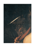 Seven Works of Mercy, 1606-1607 Giclee Print by  Caravaggio