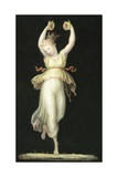 Woman Playing Castanets Giclee Print by Antonio Canova
