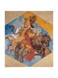 Fall of Fetonte Giclee Print by Lodovico Carracci