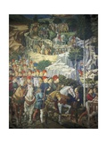 Procession of the Magi Giclee Print by Benozzo Gozzoli