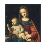 The Madonna of the Carnation, C.1515 Giclee Print by Bernardino Luini