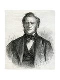 Portrait of Brigham Young, 1861 Giclee Print