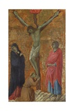 Crucifixion with St Francis Giclee Print by Ugolino Di Nerio