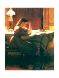 Homework, 1895 Giclee Print by Seymour Joseph Guy