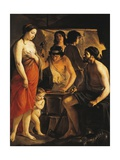 Venus at Forge of Vulcan Giclee Print by Louis Le Nain
