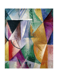 Window, Study for Three Windows, 1912 Giclee Print by Robert Delaunay