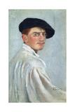 Self-Portrait, 1893 Giclee Print by Leon Bakst