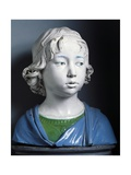 Head of Child Giclee Print by Andrea Della Robbia