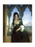 Secret Accusation, 1847-1848 Giclee Print by Francesco Hayez