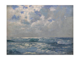 The Silver Sea Giclee Print by Albert Julius Olsson