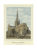 Norwich Cathedral, South East View Giclee Print by John Francis Salmon
