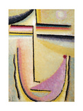 Abstract Head; Abstrakter Kopf, 1928 Giclee Print by Alexej Von Jawlensky