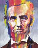 Stephen Fishwick - Abraham Lincoln - Poster