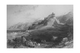 Acropolis of Sardis Giclee Print by Thomas Allom