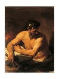 Vulcan Giclee Print by Pompeo Girolamo Batoni