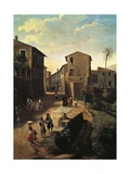 View of Tivoli Giclee Print by Gaspar van Wittel