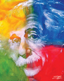 Albert Einstein Posters av Stephen Fishwick