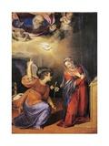 Annunciation, 1587 Giclée-tryk af Scipione Pulzone