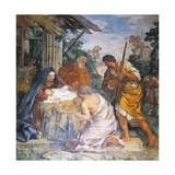 Birth of Christ, 1621-1630 Giclee Print by Pietro da Cortona